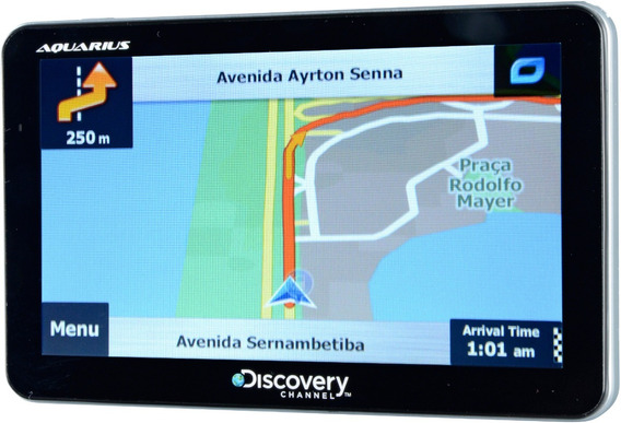 Gps 7 Polegadas Automotivo Discovery Channel Tv Digital