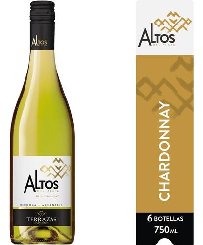 Imagen 1 de 7 de Vino Altos Del Plata Chardonnay Caja 6u X 750ml