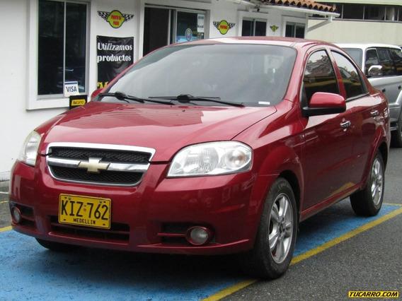 Chevrolet Aveo Emotion Sd Mt 1600