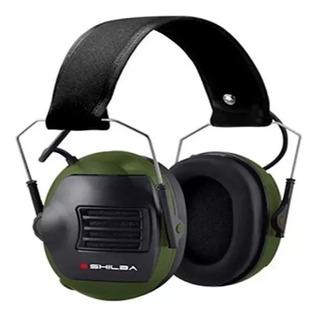 Protector Auditivo Auricular Shilba Electronico Sh 026e Caza