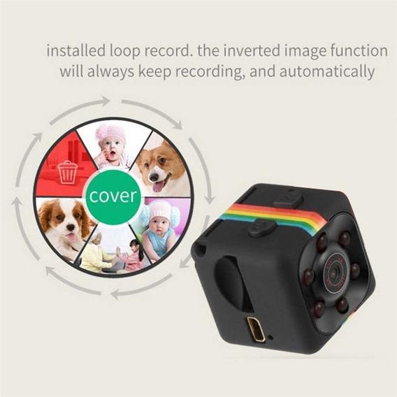 Mini Câmera Sq11 Hd Camcorder Dv Câmera Gravador De Vídeo Dv