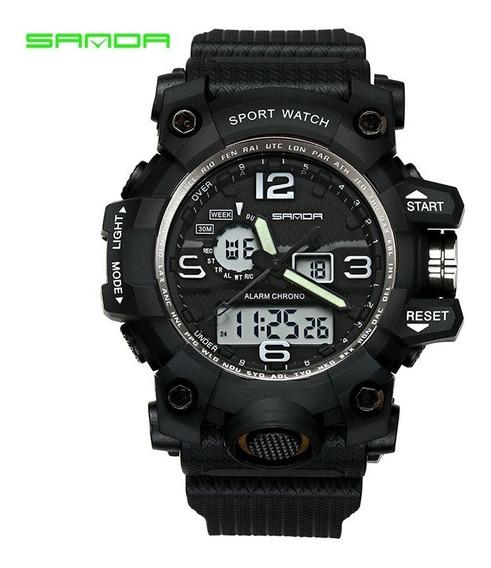 Reloj Tipo Militar Sanda, Sumergible