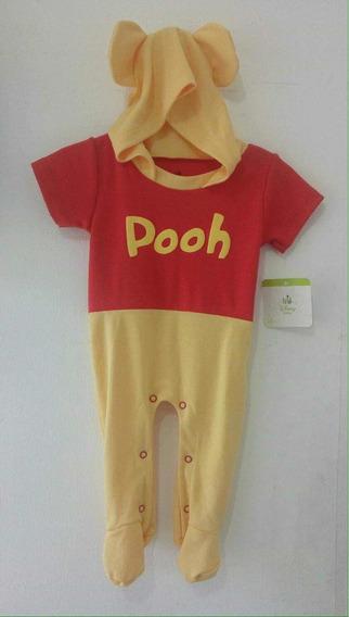 Winnie Pooh Y Sabanitas Ropa Para Bebé Mameluco 3 Piezas