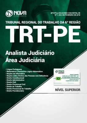 Apostila Trt 6 ª Analista Judiciário - Área Judiciária Nova