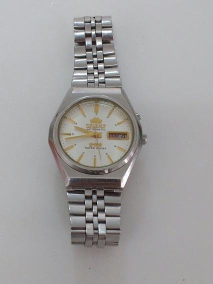 Relógio Orient Automático 469wb4-70ca Funcionando