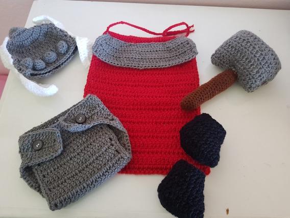 Thor De Croche Newborn Para Fotos