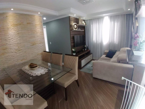 Imagem 1 de 15 de Apartamento Com 2 Dormitórios À Venda, 48 M² Por R$ 225.000,00 - Parque São Vicente - Mauá/sp - Ap2882