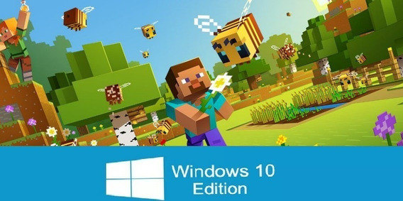Minecraft Windows 10 Edition   Codigo Original Pc + Tutorial