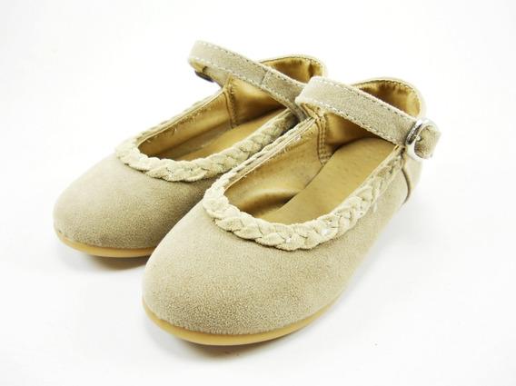Zapato Guillermina Con Pulsera Gamuza Coco Nena Bebe Moda