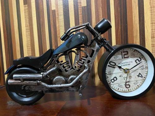 Moto Reloj Metalica