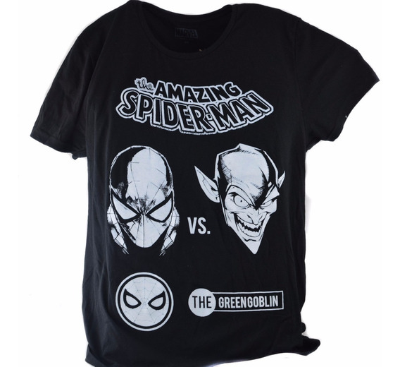 Playera Marvel Spiderman Green Goblin Original Promo