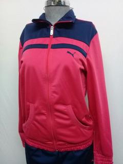 Pants Puma Rosa Azul Para Dama. La Segunda Bazar