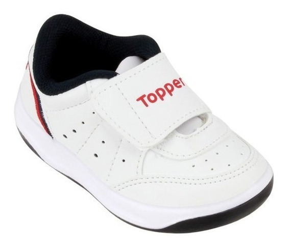 Zapatillas Topper Baby X Forcer Blancas