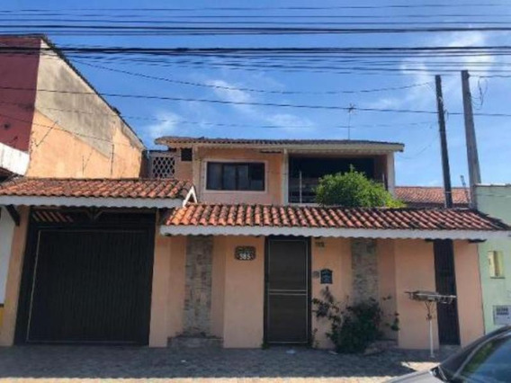 Casa Com 4 Quartos Lado Praia No Centro De Peruíbe -5213 Npc