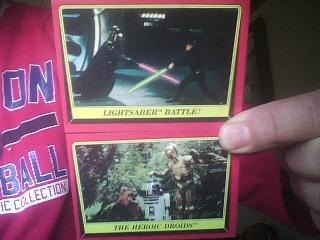 Tarjetas Star Wars