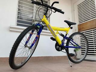 Bicicleta Montañera Rin 26 Doble Suspensión