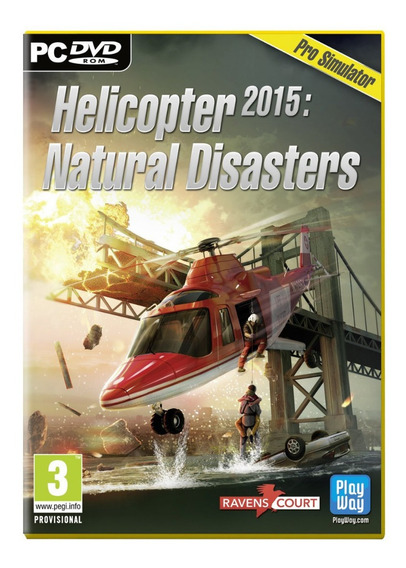 Simulador De Vôo Helicopter 2015: Natural Disasters Pc