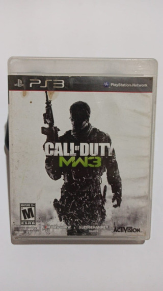 Call Of Duty Modern Warfare 3 - Mídia Física - Ps3