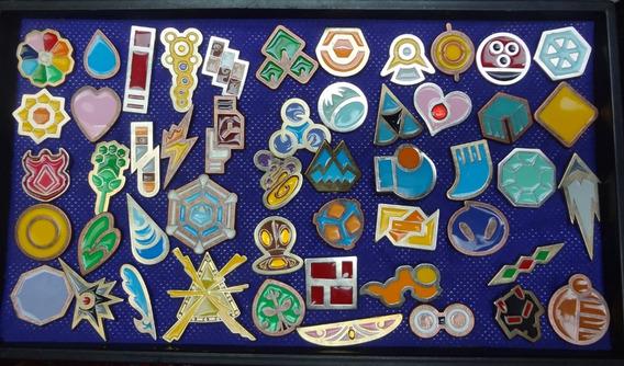 Todas Las Medallas Pokemon! 50 Piezas