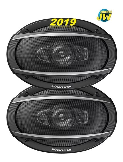 Parlantes Pioneer 6x9 T 6970 600w 100rms Reemplaza 6976 Gti