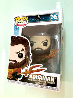 Funko Pop Aquaman - A Curry Traje De Héroe (n245 Original)