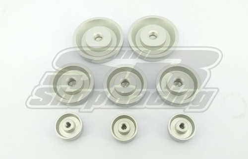 Selo Bloco Do Motor Alumínio Gm Opala 4 / 6cil 8 Pçs