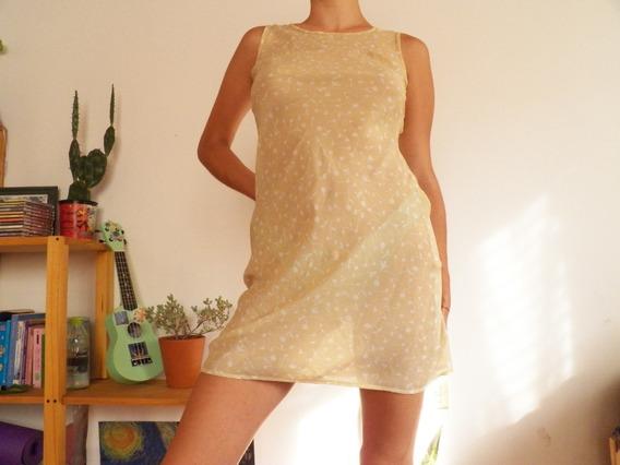 Vestido Vintage Nude