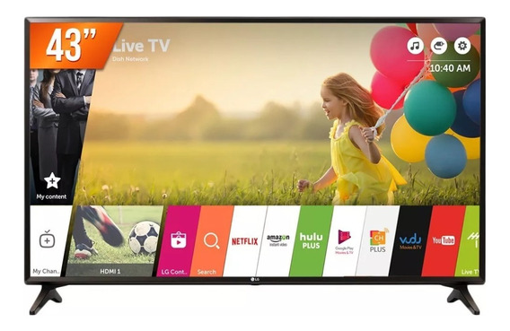 Smart Tv Led 43 Full Hd Lg 43lk5750psa 2 Hdmi Usb Wi-fi