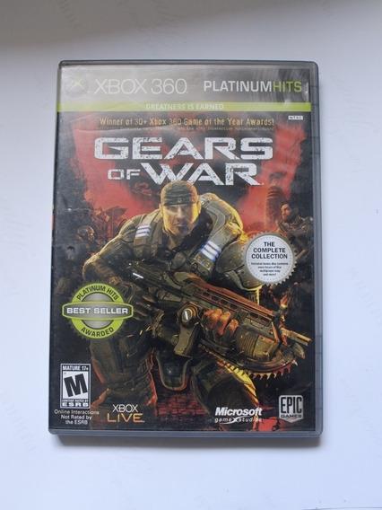 Gears Of War 1 Original Mídia Física Xbox 360