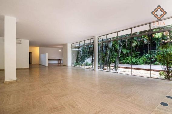 Casa Com 5 Dormitórios Para Alugar, 764 M² Por R$ 70.000/mês - Jardim Europa - São Paulo/sp - Ca2949