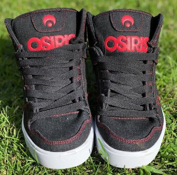 Zapatillas Osiris Clone Black/white/red