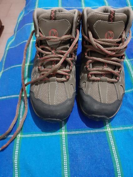 Zapatillas Cuero Montañismo, Trekking
