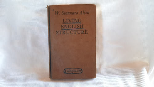 Imagen 1 de 8 de Living English Structure W Staannard Allen Longman Tapa Dura
