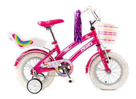 Bicicleta Nena Olmo Rod 12 Tiny Pets Rueditas Ahora 12 Y 18