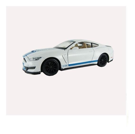 Carro Miniatura Ford Shelby Gt350 Som E Luz Escala 1/32