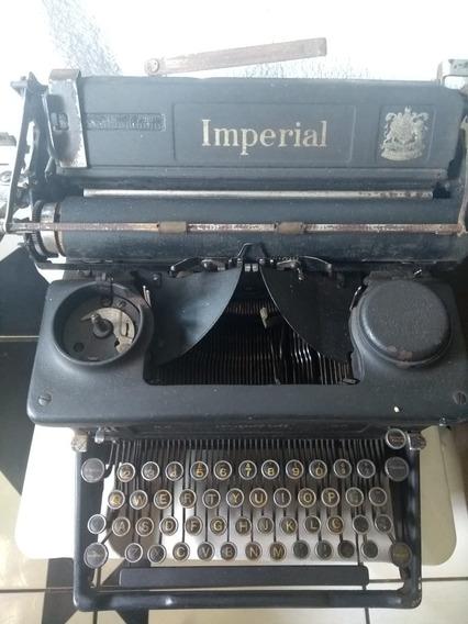 Maquina De Escrever Imperial Seculo 18 Brazão Do Imperio