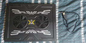 Base Cooler Dual Fan Para Notebook + Case