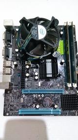 Kit Placa Mãe G41 / 775 + 8gb Ddr3 + Core 2 Duo E7400