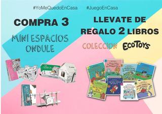 #yomequedoencasa - Combo 3 Mini Espacios + Regalo 2 Libros