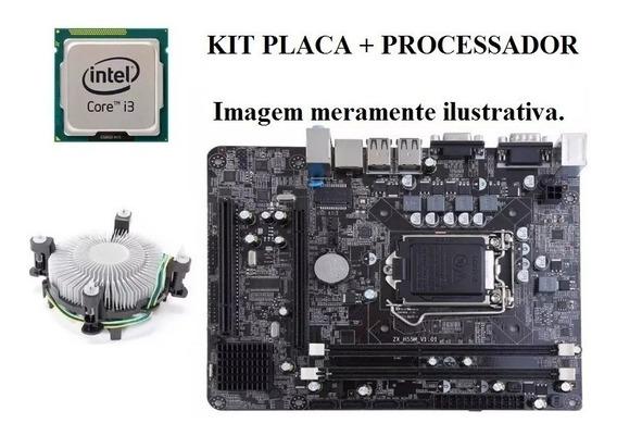 Kit Intel Core I3 530 3ghz + Placa Mae H55 Oferta