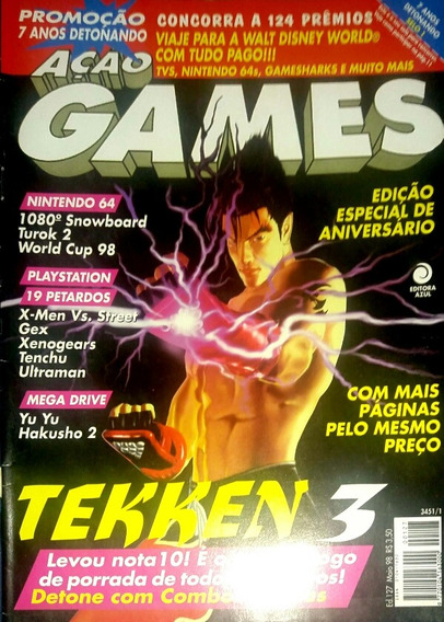 Revista Ação Games N° 127