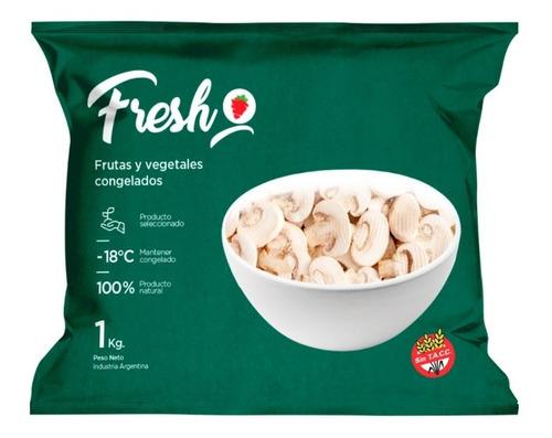 Champignon Laminado Congelado Iqf Fresh X 1kg