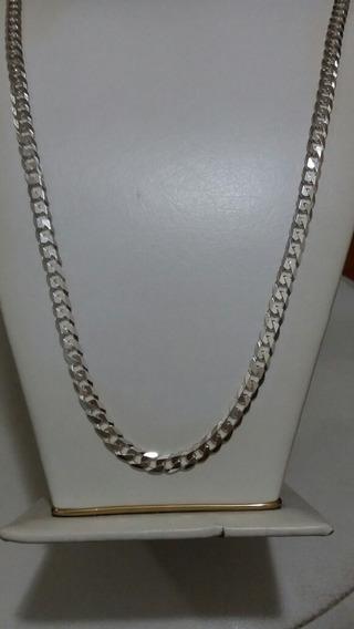 Cordão De Prata Grumet 70cm