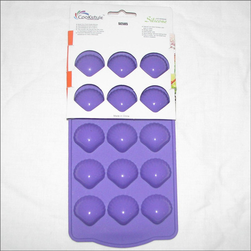 Imagen 1 de 9 de Molde Silicon Bombon Chocolate Vela Arcilla 15 Conchas