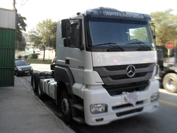 Mercedes Axor 2540 6x2 Impecavel Volvo/scania,iveco