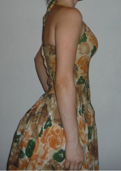 Vestido Corto Retro Talla S