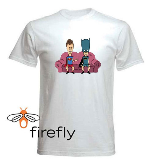 Remera Beavis And Butt-head Hombre Blanc Coleccion 1 Firefly
