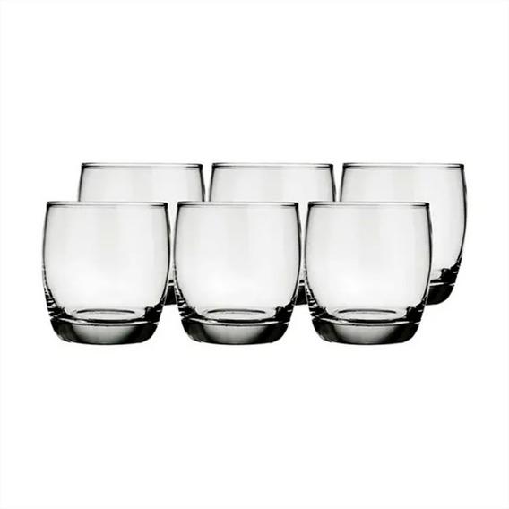 Vaso Vidrio Whisky Nadir 330 Ml X 6 Unid. Oca