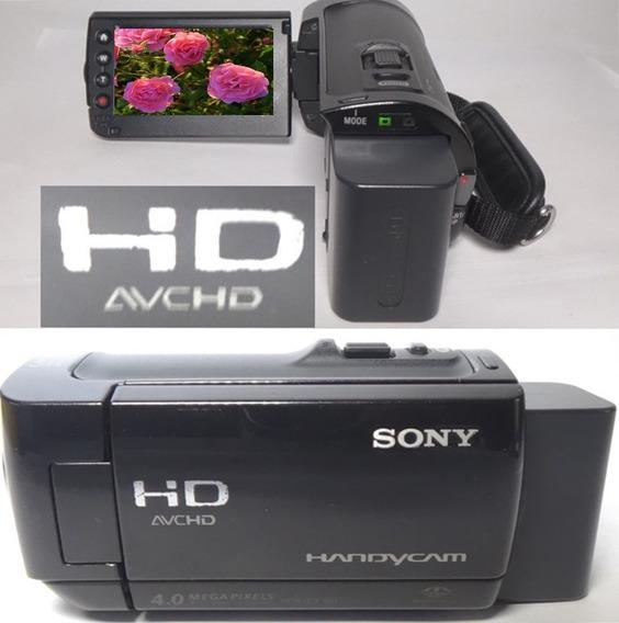 Filmadora Sony Hdr-cx100 Full Hd Alta Definição De Imagem