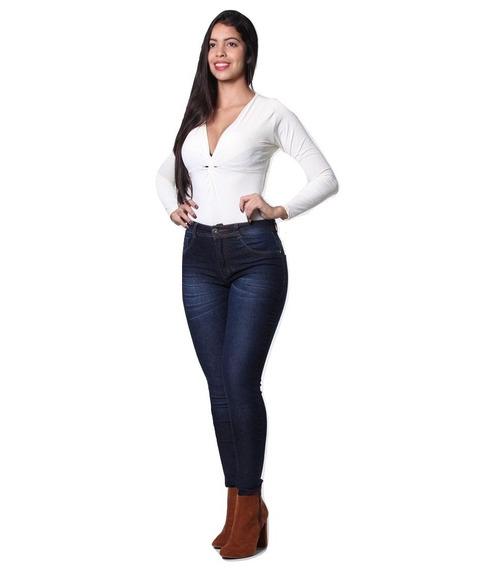 Calça Feminina Jeans Biotipo Cintura Media Skinny